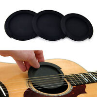 Silicone Guitar Feedback Buster Soundhole Cover Sound Buffer Hole Protector DSUK