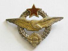 g258 Yugoslavia Military Air Force Pilot communist wings badge numbered