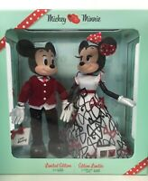Mickey and Minnie Mouse Limited Edition Valentine's Day Doll Set 2021