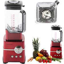 Charles Jacobs Ultra Powerful 2000W Food Blender Fruit Smoothie Maker 2L Jug Red