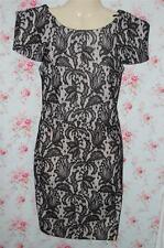 TopShop Short Sleeve Polyester Floral Dresses for Women