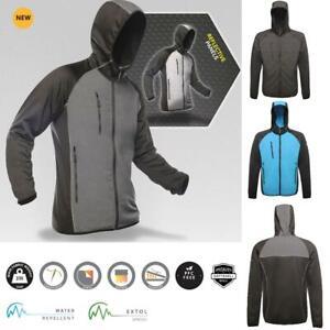 Regatta Mens X-Pro Lumen Reflective Stretch Grown Hooded SoftShell Jacket TRA611