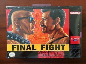 Final Fight (Super Nintendo Entertainment System, 1991) SNES SUPER RARE FACTORY