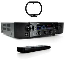 NEW Pyle PT395 Bluetooth Hybrid Home Theater Pre-Amp Receiver MP3/USB/AUX Radio