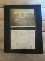 Battle of Atlanta Kurz and Allison Matted Print with Atlanta Campaign Map