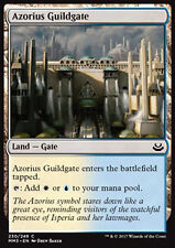 MTG AZORIUS GUILDGATE FOIL EXC - CANCELLO DELLA GILDA AZORIUS - MMA3 - MAGIC