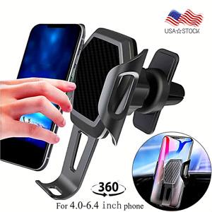 360 Base Para Poner Sujetar El Telefono En Carro Soporte Celular Movil GPS Coche