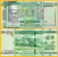 Guinea 2000 Francs p-new 2108 / 2019 UNC Banknote