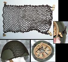 F Filet cam pr casque italien 933 / Camo Net cover for italian helmet WWII type