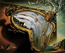 Melting Watch by Salvador Dali  Giclee Canvas Print  Repro