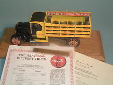 1927 COCA-COLA FORD DELIVERY TRUCK OPEN CAB DANBURY MINT 1:24 DIECAST WITH DSPLY