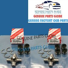 For Toyota Landcruiser FZJ80 FJ80 Universal Joints Frt/&Rr 4