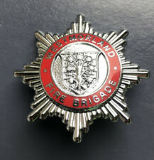 WESTMORLAND FIRE BRIGADE CAP BADGE.