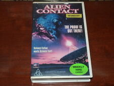 Alien Contact VHS 1990s Documentary 20th Century Fox Home Video PAL