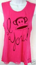 Paul Frank Sleeveless T Shirt I  Julius You  Pink Paul Frank