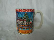 RADIO CITY MUSIC HALL CHRISTMAS SPECTACULAR ROCKETTES 3D CERAMIC COFFEE MUG  NYC