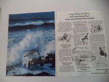 advertising Pubblicità 1980 RANGE ROVER