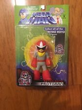 Capcom Nintendo Mega Man Retro Roto Protoman Action Figure Sealed