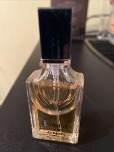 80 % full Guerlain Shalimar Women's Eau DE Toilette Paris Perfume .5 spray