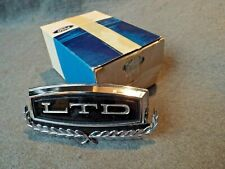 NOS Trunk Lock Cover 1972 Ford LTD Brougham Hard Top/Convertible Emblem Badge 72