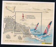 ITALIA REPUBBLICA 2005,  FOGLIETTO VUITTON CUP TRAPANI NUOVO** PERFETTO