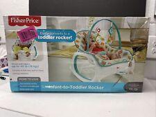 Fisher-Price Infant-to-Toddler Rocker, Geo Diamonds NEW #3179