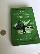 The Compleat Angler And The Arte Of Angling Izaak Walton D/J The World's Classic