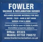 Fowler Salvage & Reclamation Sussex
