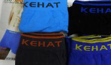4 boxer algodón sin costuras KEHAT T L/G colores surtidos diseñado en España