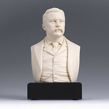 Theodore Roosevelt Bust Statue Sculpture GREAT AMERICANS -