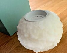 """PartyLite Snowball Candle Tealight Holder 6""""/15cm Boxed L0610 Instructions"""