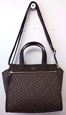Fossil Tessa Satchel Multi Brown SHB1471249 NWOT