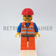 LEGO Minifigures - 1x trn143 - Train Worker - Treni Omino Minifig Set 7724