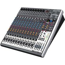 Behringer Xenyx X2442 24-Channel live mixer mischpult mit USB Audio Interface
