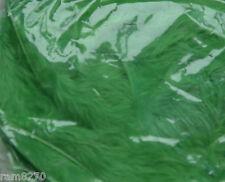 GREEN CRAFT FEATHERS  (7-10gram packets)  BNIP NEW
