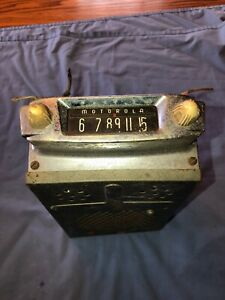Motorola Vintage Below Dash Radio Model A T B Ford Rat Rod Buick Reo Chevy GMC
