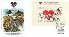 Malaysia 2015 MALAYSIA # Sehatisejiwa  ~ FDC