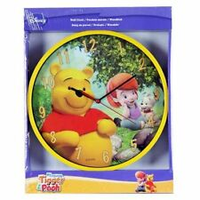 Disney My Friends Tigger and Pooh Round Wall Clock New