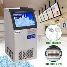 150lb Built In Bar Restaurant Commercial Ice Maker Freestanding Ice Cube Machine