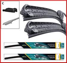 """Jaguar XJ (X351) 2009 - 2018 Delantero Par Plano Aero Wiper Blades 24"""" 18"""""""