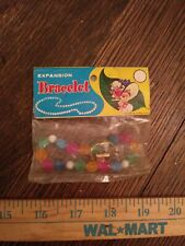Old Hong Kong Expandable Bracelet Toy W/Package
