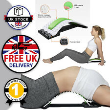 Back Relief Spine Lumbar Support Muscle Stretcher Acupuncture Pad 3 Levels UK