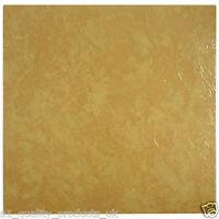60 x Vinyl Floor Tiles - Self Adhesive - Bathroom Kitchen BN - Orange Marble 197
