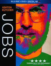 JOBS Blu-ray + DVD Ashton Kutcher Steve Jobs Apple Brand New Sealed