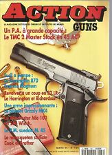 ACTION  GUNS N°186 TMC 2 MASTER STOCK EN 45 ACP / REMINGTON 870 EXPRESS MAGNUM