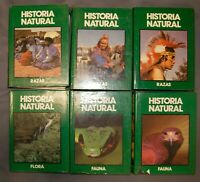 Lote 6 Enciclopedia historia natural de Club internacional del libro