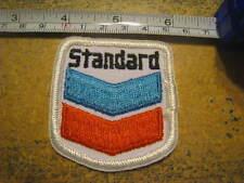 Standard Oil Chevron style vintage NOS patch oil gas patch