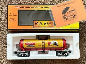 MTH/RAIL KING-O/O27-RARE-GREAT AMERICAN CIRCUS #30-73171-MODERN TANK CAR-NEW