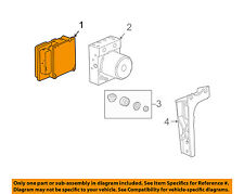 Chevrolet GM OEM Corvette ABS Anti-Lock Brake System-Control Module 25994201