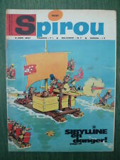 Journal SPIROU n° 1521 (52 pages)  du 8 juin 1967  - COMPLET sans supplément